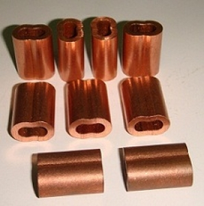Copper Hourglass Sleeves